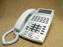 【中古】NTT ビジネスホン/ビジネスフォン NX-24BTEL(1)(W) NXバス用24ボタン電話機 美品 NXシリーズ 業務用電話機