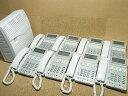 【中古】ビジネスホン/ビジネスフォン NTT GXシリーズ 8台セット 【お見積り無料】 全国設置工事対応!