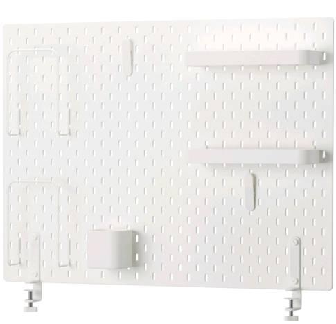 IKEA SKADIS スコーディスペグボードコンビネーション, ホワイト 492.173.76【メール便不可】