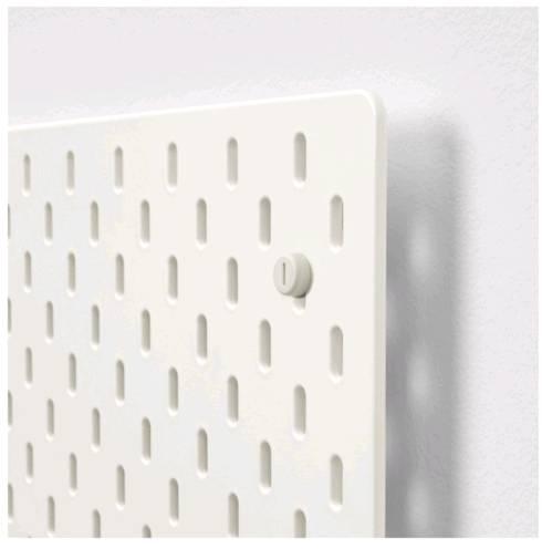 IKEA SKADIS スコーディスペグボード, ホワイト903.216.19【メール便不可】