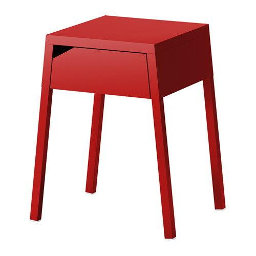 IKEA SELJE イケア ベッドサイドテーブル レッド 203.171.16