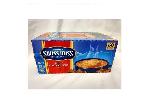 SWISS MISS Hot Cocoa Mix スイスミス ミルクチョコレート 60袋入り ホットココアミックス 479946