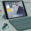 【保護フィルム付】iPad2/iPad3/iPad4 用 スマートカバー ケース ipad2 ケース アイパッド ipad3 ケース ipad4 三つ折り保護カバー TPUケース ソフトケース 軽量・極薄タイプ【thxgd_18】