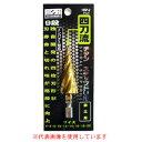 チタンステップドリル 4枚刃タイプ 4mm-20mm(9段) HSP-2