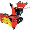 自走式小型エンジン除雪機 セルスターター ライト付き 能力60t/h 337cc MSB28 ワキタ