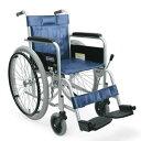 病院施設向け スチール製 自走式車椅子 KR801N カワムラサイクル