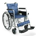 病院施設向け スチール製 自走式車椅子 KR801Nソフト カワムラサイクル