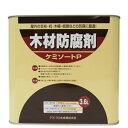 木材防腐剤 ケミソートP 黒褐色 3.6L