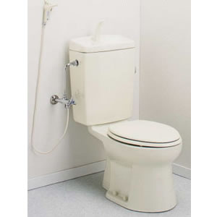 水洗トイレ アイボリー