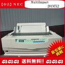 【中古】NEC MultiImpact 201MX2 PR-D201MX2 ドットインパクトプリンタ シートガイド付き 整備清掃済 送料無料