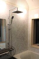 オーバーヘッドシャワー水栓KOJ-3302リフォーム用