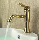 水栓金具 蛇口 水栓 洗面水栓 洗面手洗いボウル用 混合水栓 シングルレバー ワンレバー 洗面用水栓金具 KOJ-48G