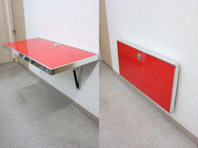 折りたたみ テーブル 折りたたみ(折り畳み)テーブル 幅1200 × 600 テーブル 折りたたみ デスク 机 キッチン 居間 子供部屋 寝室 オフィス折りたたみ式テーブルKOTB-AC-R