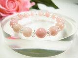 パワーストーン ピンクオパール AAA 8mm玉 平珠水晶天然石 パワーストーン レディース ブレスレットパワ−スト−ン パワ-スト-ン ladies ブレスレッド Bracele