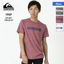 QUIKSILVER クイックシルバー メンズ 半袖 Tシャツ QST191050 ティーシャツ ロゴ 男性用