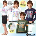 ROXY ロキシー ラッシュガード UV プルオーバー レディース 紫外線 海水浴 プール ラッシュ Tシャツ 女性用 セール マリン 長袖