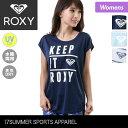 ROXY/ロキシー レディース ラッシュガード 半袖 Tシャツ RST172018 ティーシャツ UVカット 水陸両用 速乾 女性用