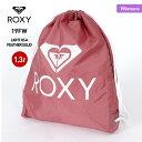 ショッピングOFF ROXY/ロキシー レディース ナップサック ERJBP03949 1.3L ナイロン ジムサック 巾着タイプ サブバッグ かばん 鞄 女性用