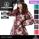 VOLCOM/ボルコム レディース スノーボードウェア ジャケット H0451708 スノーウェア スノボウェア スノボーウェア ウエア 上 女性用