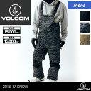 VOLCOM/ボルコム メンズ スノーボードウェア ビブパンツ G1351717 オーバーオール スノーウェア スノボウェア スノボーウェア スノボウエア スノ...