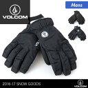 VOLCOM/ボルコム メンズ スノーボード グローブ J6851705 スノーグローブ 5本指タイプ スノー用グローブ スノボ スキー 手袋 手ぶくろ てぶく...