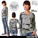 【ネコポス無料】[2013年モデル]VOLCOMの長袖ロングTシャツが50%OFF!女性用【あす楽】