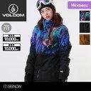 VOLCOM/ボルコム レディース スノーボードウェア ジャケット H0451810 スノージャケット ス