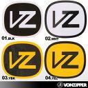 VONZIPPER/ボンジッパー ロゴステッカー{V00-S03}シール ステッカー ロゴ VZ