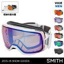 SMITH/スミス メンズ スノーボード ゴーグル Vice スノーゴーグル スキーゴーグル スノボ ダブルレンズ バイス 男性用 人気 ブランド