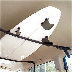 Surfboard rack belt