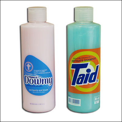 Wet suit shampoo & softener set /dawmy-taid