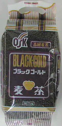 ブラックゴールド麦茶(1ケース)1kg入り×10袋(国内産100%)