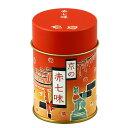 京都【赤七味・缶(七味唐辛子)】国産唐辛子を使用。爽やかな山椒など全8種の薬味を調合し、辛味、風味ともにバランス良い七味唐辛子です。 京都 ご当地 お土産 贈り物 スパイス 調味料 七味とうがらしのお店おちゃのこさいさい