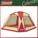 Coleman(コールマン) ドームスクリーンタープ/380(バーガンディ) テント タープ キャンプ アウトドア