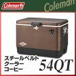 Coleman(コールマン) スチールベルトクーラー/54QT(コーヒー) クーラーボックス 10P01May16