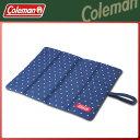 Coleman(コールマン) フォールディングトレッキングクッション(ネイビードット) 座布団 クッション