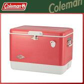 Coleman(コールマン) 54QT 60thアニバーサリー スチールベルト クーラー(ストロベリー) クーラーボックス