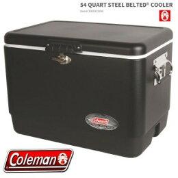 Coleman(コールマン)/54QTスチールベルト/クーラー(マットブラック)/クーラーボックス