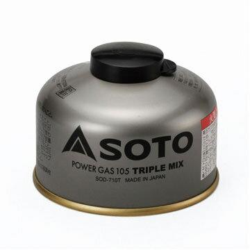 ソト(SOTO) パワーガス105トリプルミックス SOD-710T