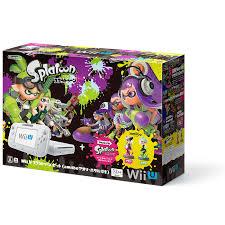 任天堂 Wii U スプラトゥーン セット(amiibo アオリ・ホタル付き)未使用