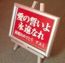 メッセージ キャンパス (ミラー彫刻)【RCP】