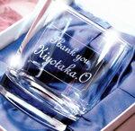 メッセージ彫刻入り,名入れ,名入り,グラス(化粧箱入)【RCP】
