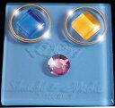 リングピロー.名前彫刻入り高級ジュエリーケース入りガラスのリングピロー(ブルー)ダブル天使(水色)【RCP】【TOKAI20140920】【10P20Sep14】