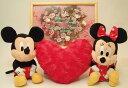 Disneyディズニー(ミッキー・ミニー)ウェルカムドールとメッセージボードのセット、結婚祝い、ブライダルギフト、出産祝い、送料無料..