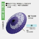 【和紙日傘】舞傘 踊り傘 紙箱付2本継ぎ...