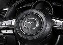 送料無料 日時指定不可能 MAZDA マツダ CX-5 CX-3 CX-8 アテンザ デミオ アクセラ ホーンボタン ガーニッシュ カーボンデザイン 内装 ドレスアップ カーパーツ