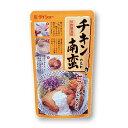 人気の宮崎メニュー。揚げた鶏肉にかける甘酢たれ。チキン南蛮のたれ