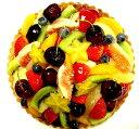 ミックスフルーツタルト19cm(6号)お誕生日ケーキ、バースデーケーキ用に!【バースデイケーキ】