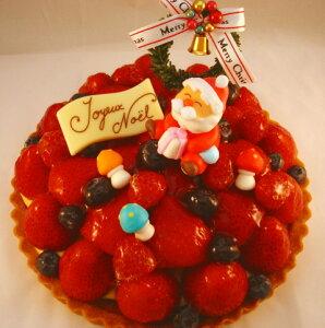 粒選りベリーのプレミアムタルト16cm☆クリスマスケーキ☆
