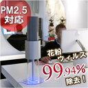 【ライトエアー イオンフロー50(サーフィス)】美しいフォルム空気清浄機[IONFLOW50-SURFACE]PM2.5対応!花粉やほこり、ウィルスを99%除去...